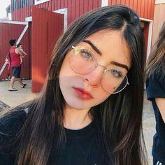 Fashion Women Glasses Frame Small Round Eyeglasses Glasses For Looking At Computer Mens Square Glasses Glasses Frames Trendy, Girls With Glasses, Glasses Trends, Lunette Style, Tumbrl Girls, Estilo Blogger, Fashion Eye Glasses, Stylish Girl Images, Girl Inspiration