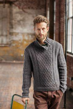 Modèle de tricot - Brooklyn Tweed pull HUGO