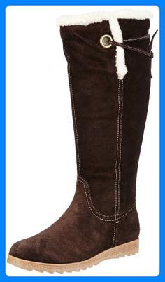 Cognac 42 Stiefel Leder Footwear Ml Damen Brora Street Jj W2DIH9YeE