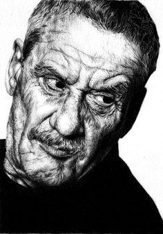 Paolo Conte bic portrait by romonimo on DeviantArt