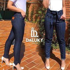 Z Cavaricci Jeans, Look, Capri Pants, Skinny, Fashion, Flare Leg Jeans, Winter Time, Women's Work Fashion, Brazil