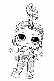 Lol Surprise Doll Coloring Pages Printable Unicorn Coloring
