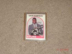 1989 #NBA hoops david robinson rookie card from $7.95