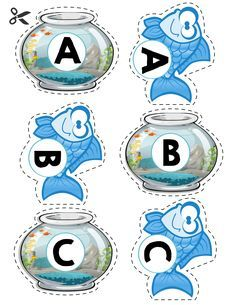 Free uppercase letter matching activity.