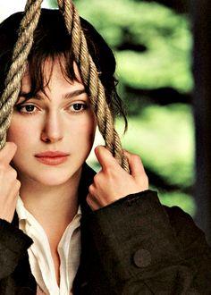 Keira Knightley, Elizabeth Bennet - Pride  Prejudice (2005) #janeausten #joewright