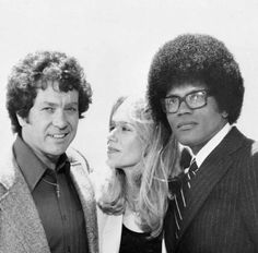 The Mod Squad! One of my favorite shows!  Michael Cole, Peggy Lipton and Clarence Williams III.