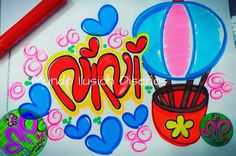 Washi, Banner, Lettering, Diana, Decorated Notebooks, Drawings, Picture Banner, Banners, Letters