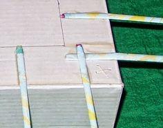 Caixa de sapato reciclada com tiras jornal | Revista Artesanato