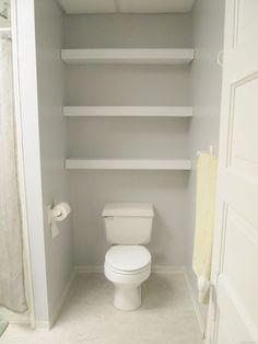 how to build diy floating shelves reality daydream bathroom storage over toiletshelves - Over The Toilet Shelf