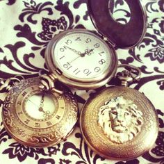 Narnia inspired pocket watch