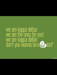 We Are Kappa Delta Print - perfect to frame and hang in your sorority chapter house! http://www.dormify.com/greek/kappa-delta/kappa-delta-we-are-print