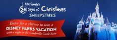 Enter ABC Family's 25 Days of Christmas Sweepstakes