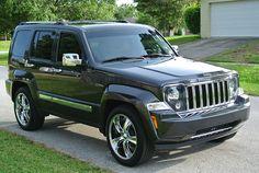 My baby, 2011 Jeep Liberty Jet Series.