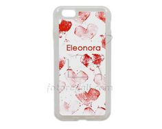 Cuori rossi per Cover in silicone iPhone 6