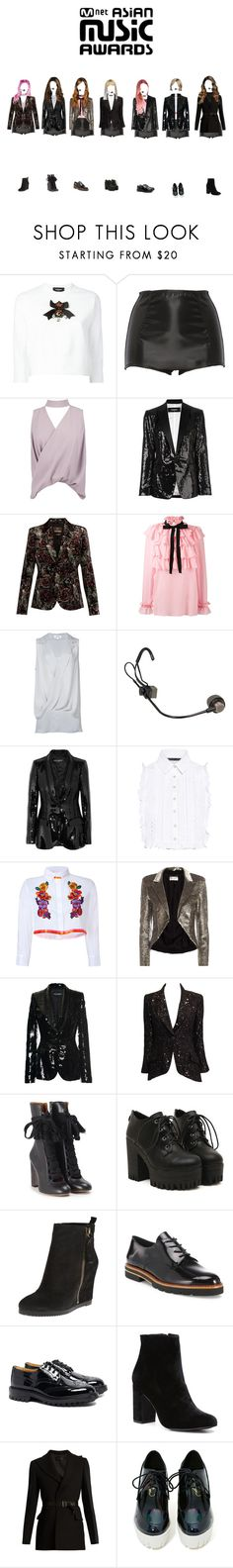 """BS&T"" by yaseumin ❤ liked on Polyvore featuring Dsquared2, Dolce&Gabbana, Boohoo, Roberto Cavalli, Gucci, L'Agence, Marissa Webb, Alberta Ferretti, Yves Saint Laurent and Chanel"