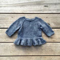 Knitting for Olive: AGNES' BLUSE strikkeopskrift