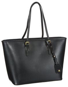 a184185f86b1 Marc O Polo Accessories Heather Damen Shopper  Handtasche aus Leder in  schwarz zum Preis