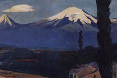 'Sunrise over Ararat', 1923 by Martiros Saryan (1880-1972, Russia)