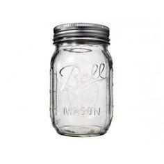 Mason Jar transparente Disponible Noviembre 2014 - Mason Jars - The White Corner