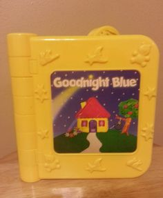 BLUES CLUES TALKING BOOK GOODNIGHT BLUE 1998 TYCO #Tyco