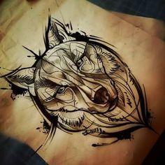 Bildergebnis für lobo tattoo