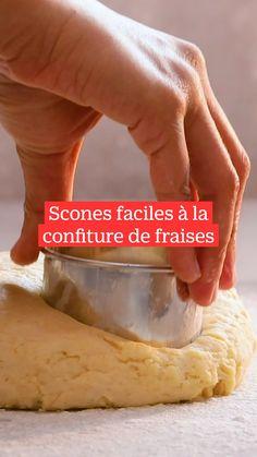 Tea Time Snacks, English Food, Happy Foods, Savory Snacks, Pains, Biscuit Recipe, Beignets, Scones, Food Videos