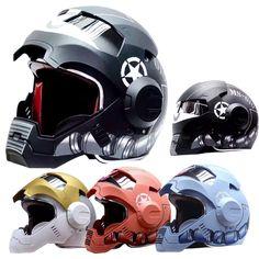 Aliexpress.com: Comprar 2015 MASEI IRONMAN 610 equipo de protección estrella infantil Mary Iron Man MOTO casco de la motocicleta medio casco integral 9 colores de casco de la motocicleta fiable proveedores en SPORTS-WU