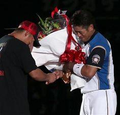 Sho Nakata and Atsunori Inaba (Hokkaido Nippon-Ham Fighters)