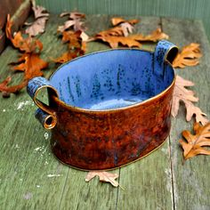 Bake and Serve Casserole Dish Oven Safe Pottery by GlazedOver