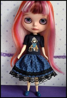 blythe Ooaak Custom Doll Eliseodolls Elegant Shape Independent Reserved- m