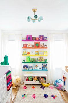 Arlo's Rainbow Nursery Reveal #KidBedrooms