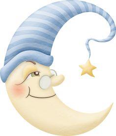 Cute Moon Clipart