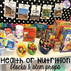 My Body Themed Activities and Centers - Pocket of Preschool