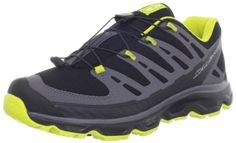 Salomon Mens Synapse Hiking ShoeBlackDark CloudMimosa Yellow8 M US *** More info could be found at the image url.