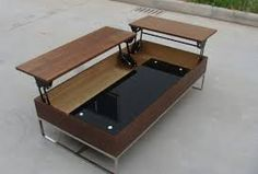 Bilderesultat for coffee table with lift top