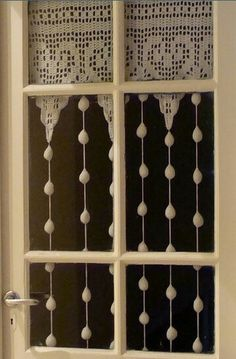 Page 1 of 3 Beaded Heart Curtains