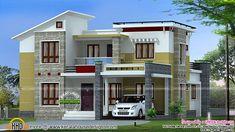 Modern home design in 2200 sq-ft