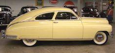 1949 Packard Deluxe Eight 2-Door Sedan (Fastback).