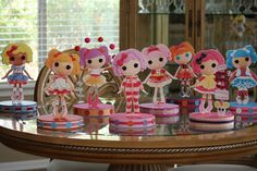 Lalaloopsy Baby Girl Birthday, 2nd Birthday, Birthday Parties, Party Themes, Party Ideas, Lalaloopsy Party, Baby Sprinkle, Party Centerpieces, Childrens Party