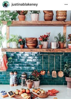 Bohemian kitchen decor custom textiles loom to home o photos and videos . Küchen Design, Home Design, Design Ideas, Design Trends, Design Blogs, Design Elements, Design Inspiration, Cool Ideas, New Kitchen