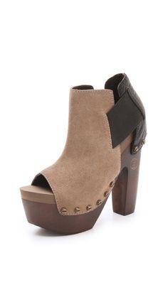 7549de9495d6cf flogg deja suede booties   shopbop.com Clog Boots