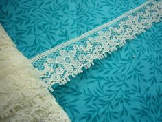 SALE 2 yards of White seam hem tape lace with by MarlenesAttic, $1.35