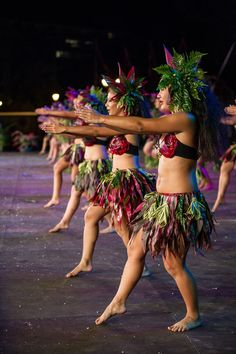 tahiti dancers by Damien Hautaplain on 500px