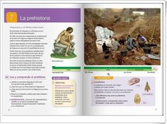 """Unidad 7 de Ciencias Sociales de 4º de Primaria: """"La prehistoria"""" Editorial, Socialism, Rome, Interactive Activities, Social Science, Prehistory, Unity"""