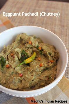 Pachadi Series: Vankaya Pachadi   EggPlant Chutney   Brinjal Chutney  