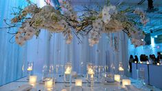 Pure Elegance Thinking Outside of The Cake Box Weddings Event Venue Event Venue Wedding Engagement, Our Wedding, Dream Wedding, Wedding Ideas, Wedding Stuff, Table Flower Arrangements, Table Flowers, Wedding Reception Decorations, Table Decorations