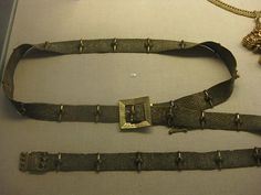 Eric of Pomerania's (1381/82-1459) Belt, but probably belonged to woman, National Museet, Denmark