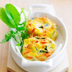 Découvrez la recette Flan de carottes et courgettes sur cuisineactuelle.fr.