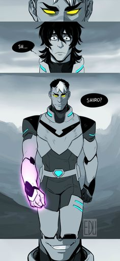 Keith | Shiro<<<i feel like this would happen in season 2