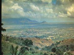 View of Morogoro City in Tanzania.